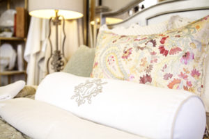 Lifestyle page banner photo of bedding set